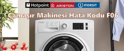 Ariston Hotpoint Çamaşır Makinesi Hata Kodu F06