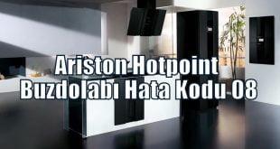 Ariston Hotpoint Buzdolabı Hata Kodu F08