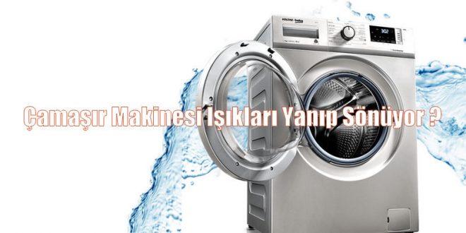 Çamaşır Makinesi Işıkları Yanıp Sönüyor